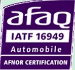 spécialiste décolletage certification ISO 16949