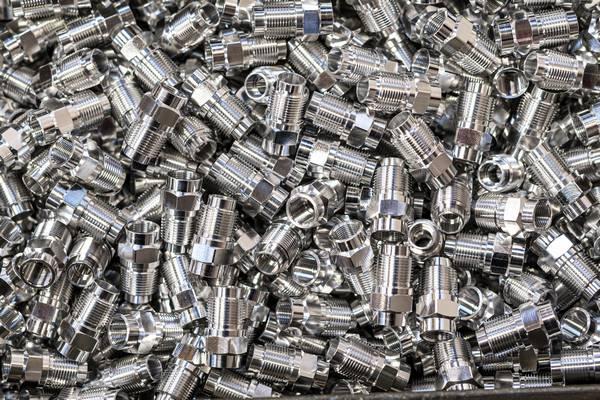 bar-turning part in alumunium