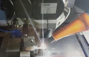 soudage laser de pièce d'usinage