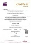 Certification ISO TS 16494 Martin Joseph Bonneville