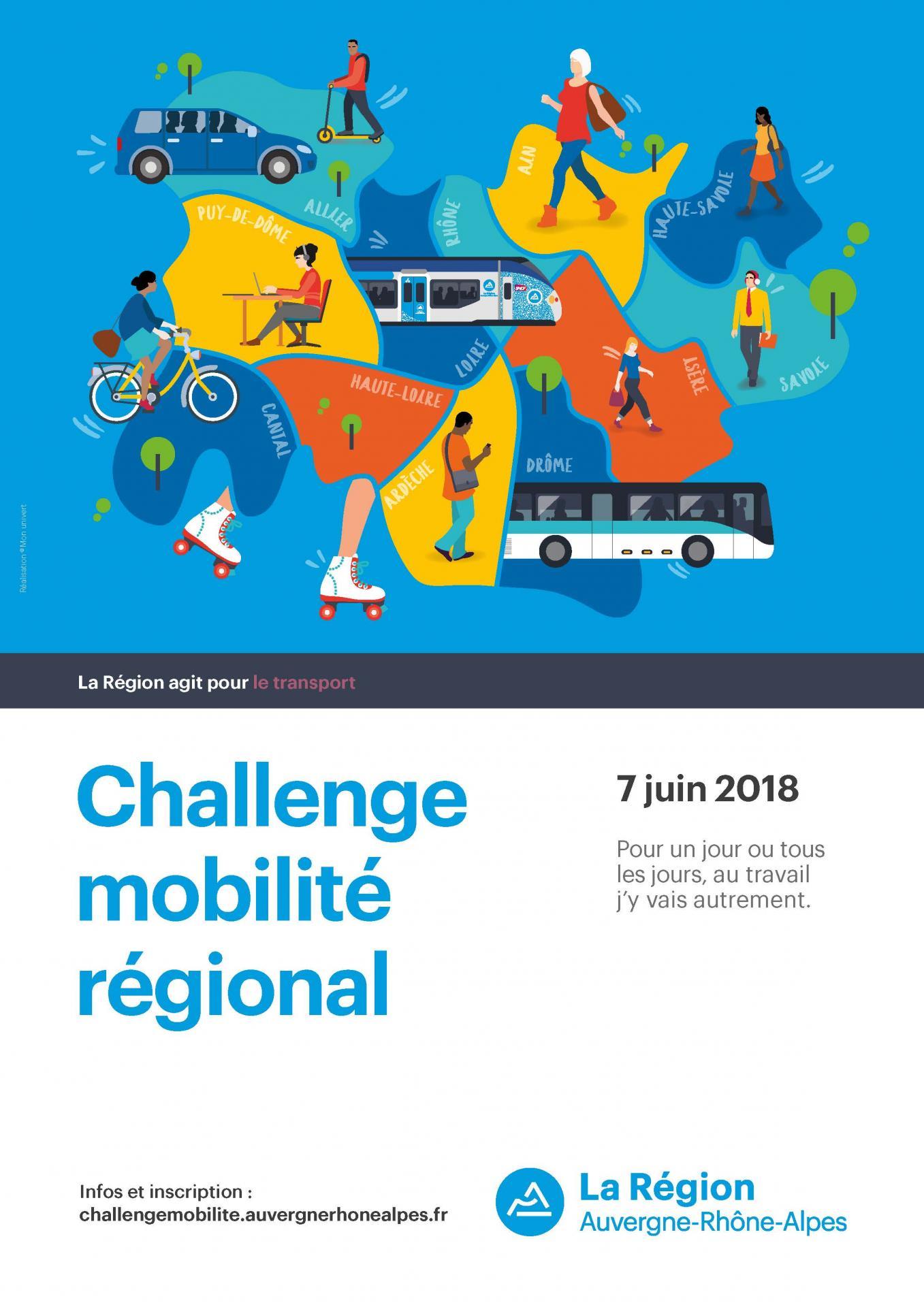 Joseph Martin reconduit sa participation au Challenge Mobilité Auvergne-Rhône-Alpes