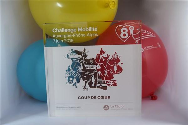 1ère place pour Joseph Martin au Challenge Mobilité !