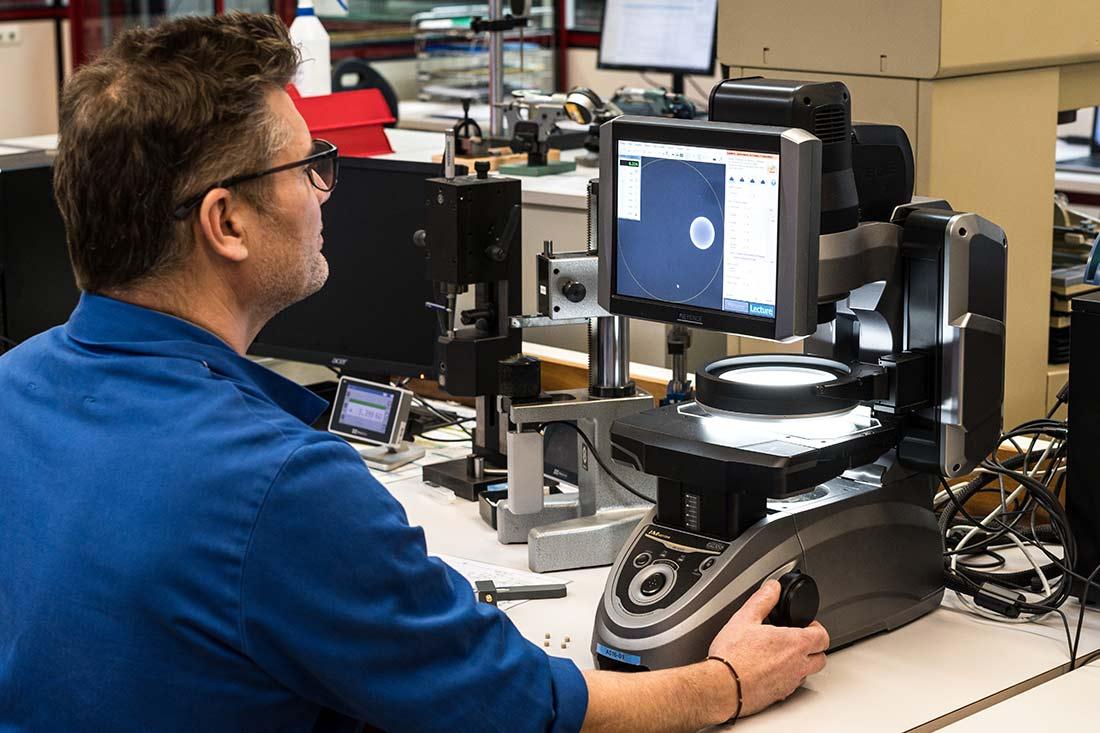 laboratoire métrologie fabrication pièce décolletée